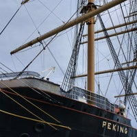 Photo taken at Barque PEKING (1911) by Luis F. on 10/20/2013
