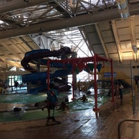 Photo taken at Silliman Family Aquatic Center by Champoa B. on 8/2/2014