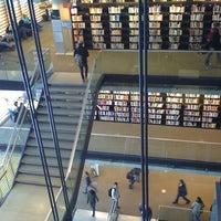 Photo taken at Bibliothèque et Archives nationales du Québec (Grande Bibliothèque) by Phong C. on 2/26/2011