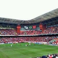 Photo taken at Arena da Baixada by Paulo M. on 10/2/2011