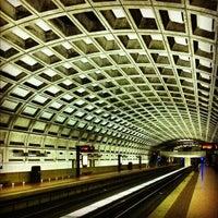 Photo taken at Smithsonian Metro Station by Joel G. on 5/12/2012