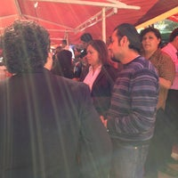 Photo taken at Mercado sobre ruedas, fresnos (jueves) by Areli T. on 10/4/2012