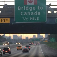 Photo taken at I-75 Rouge River Bridge by B B. on 9/19/2016