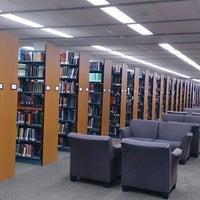 Photo taken at Langson Library (LLIB) by Kensuke G. on 9/27/2013