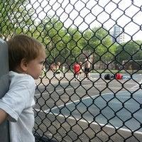 Photo taken at Sara Delano Roosevelt Park Playground by Gary P. on 5/22/2013
