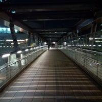Photo taken at 希望の橋 (ブリッジ渋谷21) セルリアンタワー前歩道橋 by Buzz 1. on 10/8/2015