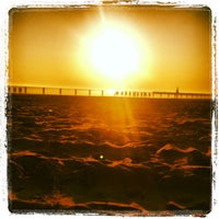 Photo taken at North Avenue Beach by Michael C. on 4/27/2013