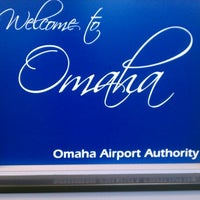 Photo taken at Omaha Eppley Airfield (OMA) by Linette C. on 11/9/2012
