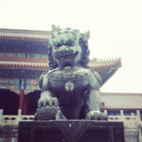 Photo taken at Forbidden City (Palace Museum) by Markus T. on 12/12/2012