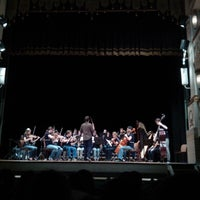 Photo taken at Teatro Accademico by Rossella C. on 10/27/2013