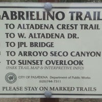 Photo taken at Gabrielino Trail Head by Ace t. on 6/11/2016