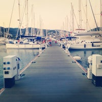 Photo taken at Milta Bodrum Marina by Mert A. on 8/8/2013