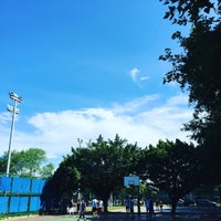 Photo taken at NCTU BasketBall Court by ranhow c. on 6/18/2016