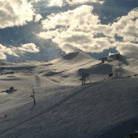 Photo taken at Valle Nevado by Gabriela B. on 6/13/2013