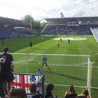 Photo taken at Stade Saputo by Marc-Élie G. on 6/29/2013