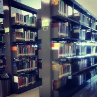 Photo taken at Perpustakaan Mandiri Universitas Al Azhar Indonesia by Triana F. on 2/22/2013