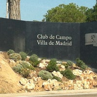 Photo taken at Club de Campo Villa de Madrid by Ignacio G. on 10/10/2013