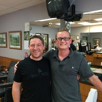 Photo taken at Mustang Barbers by Eliot L. on 7/30/2014