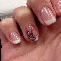 Photo taken at Sassy Nails and Spa by Ali F. on 9/20/2014