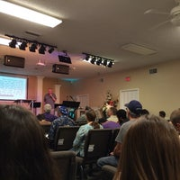 Photo taken at Real Life church by Chicke F. on 9/21/2014