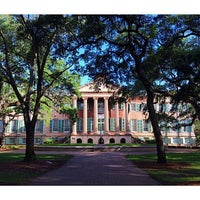 Photo taken at Harrison Randolph Hall, College of Charleston by Mark S. on 7/7/2014