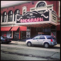 Photo taken at Victory Gardens Biograph Theater by david f. on 6/21/2013