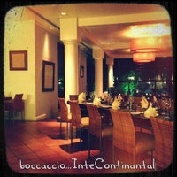 Photo taken at Boccaccio by TALAL A. on 6/12/2013