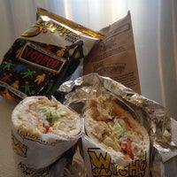 Photo taken at Which Wich Superior Sandwiches by James B. on 2/11/2014
