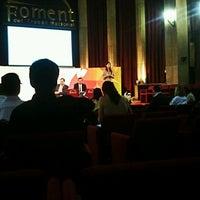 Photo taken at Foment del Treball - Forum Marketing by Sergi P. on 9/19/2012
