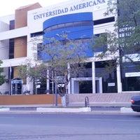 Photo taken at Universidad Americana by mirell m. on 5/19/2013
