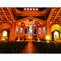 Photo taken at National Shrine of Our Lady of the Holy Rosary of La Naval de Manila (Sto. Domingo Church) by Darwin R. on 6/3/2013