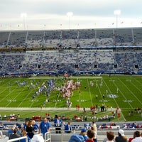 Photo taken at Commonwealth Stadium by Marc B. on 9/15/2012