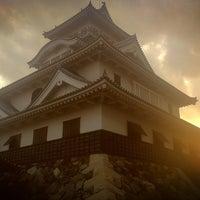 Photo taken at 長浜城 (長浜城歴史博物館) by onasu on 1/2/2013
