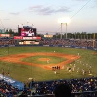 Photo taken at Meiji Jingu Stadium by Orimott on 4/27/2013