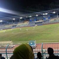 Photo taken at Stadium KLFA Cheras by Arep on 12/1/2013