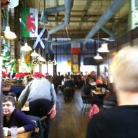 Photo taken at Fox & Goose Public House by Vicky W. on 12/22/2012