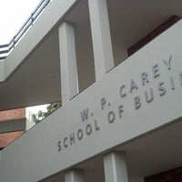 Photo taken at W. P. Carey School of Business by Denny D. on 5/4/2013