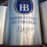 Photo taken at Hofbräuhaus Pittsburgh by John N. on 10/11/2012