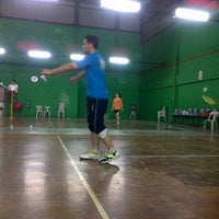 Photo taken at Dewan Badminton BCB by Mohd Shahabil I. on 9/15/2012