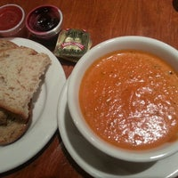 Photo taken at la Madeleine Country French Café by Trinh H. on 8/14/2013