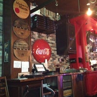 Photo taken at Grease Burger, Beer and Whiskey Bar by Melissa B. on 10/21/2012