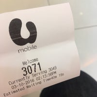 Photo taken at U Mobile Service Centre by Ain Y. on 10/3/2016