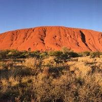 Photo taken at Uluru by Minako H. on 9/23/2016