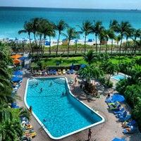 Photo taken at Four Points by Sheraton Miami Beach by Greg B. on 3/15/2013