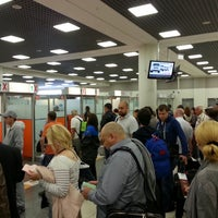 Photo taken at Паспортный контроль / Passport Control (E) by Marina L. on 9/13/2014