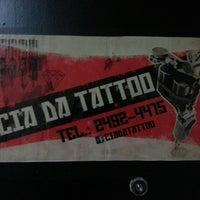 Photo taken at Cia da Tattoo by Alessandra F. on 4/22/2013