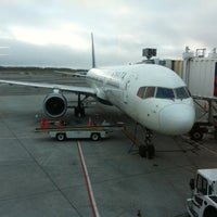 Photo taken at Ted Stevens Anchorage International Airport (ANC) by Ryan P. on 10/9/2012