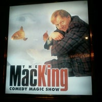 Photo taken at The Mac King Comedy Magic Show by Gabriel G. on 11/23/2012