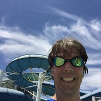 Photo taken at Aqua Adventure by Tim O. on 7/17/2015