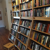 Photo taken at Borderlands Books by Tim O. on 8/1/2015